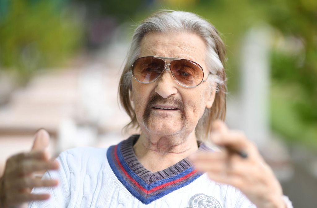 Der Designer Luigi Colani ist im Alter von 91 Jahren verstorben. Foto: dpa/Uli Deck