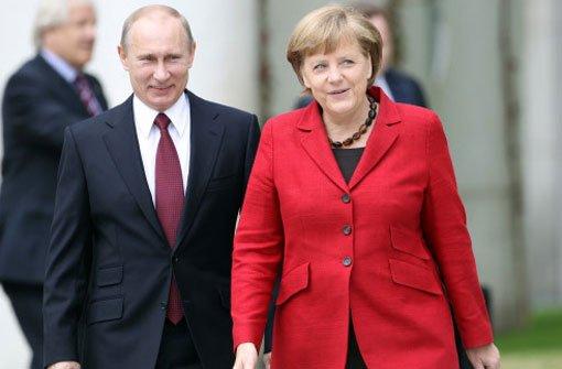 Merkel und Putin gehen nun doch zusammen