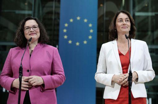 Justizministerin auf dem Weg nach Brüssel