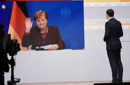 Angela Merkel: Wünsche mir ein Team