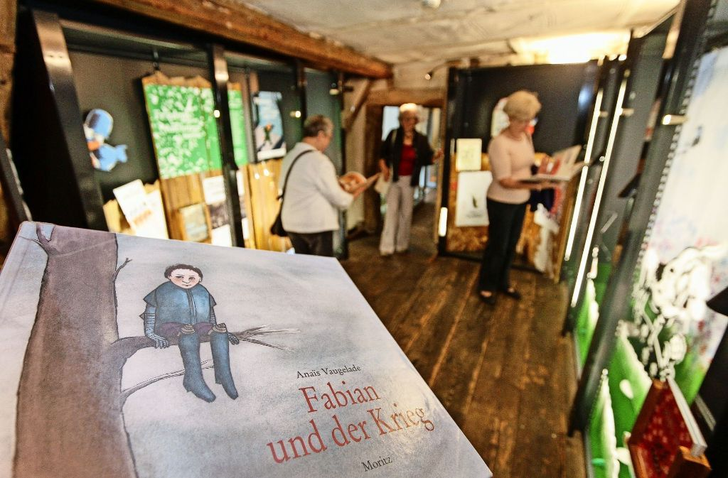 Vier Kategorien von Büchern sind ausgestellt. Foto: factum/Bach