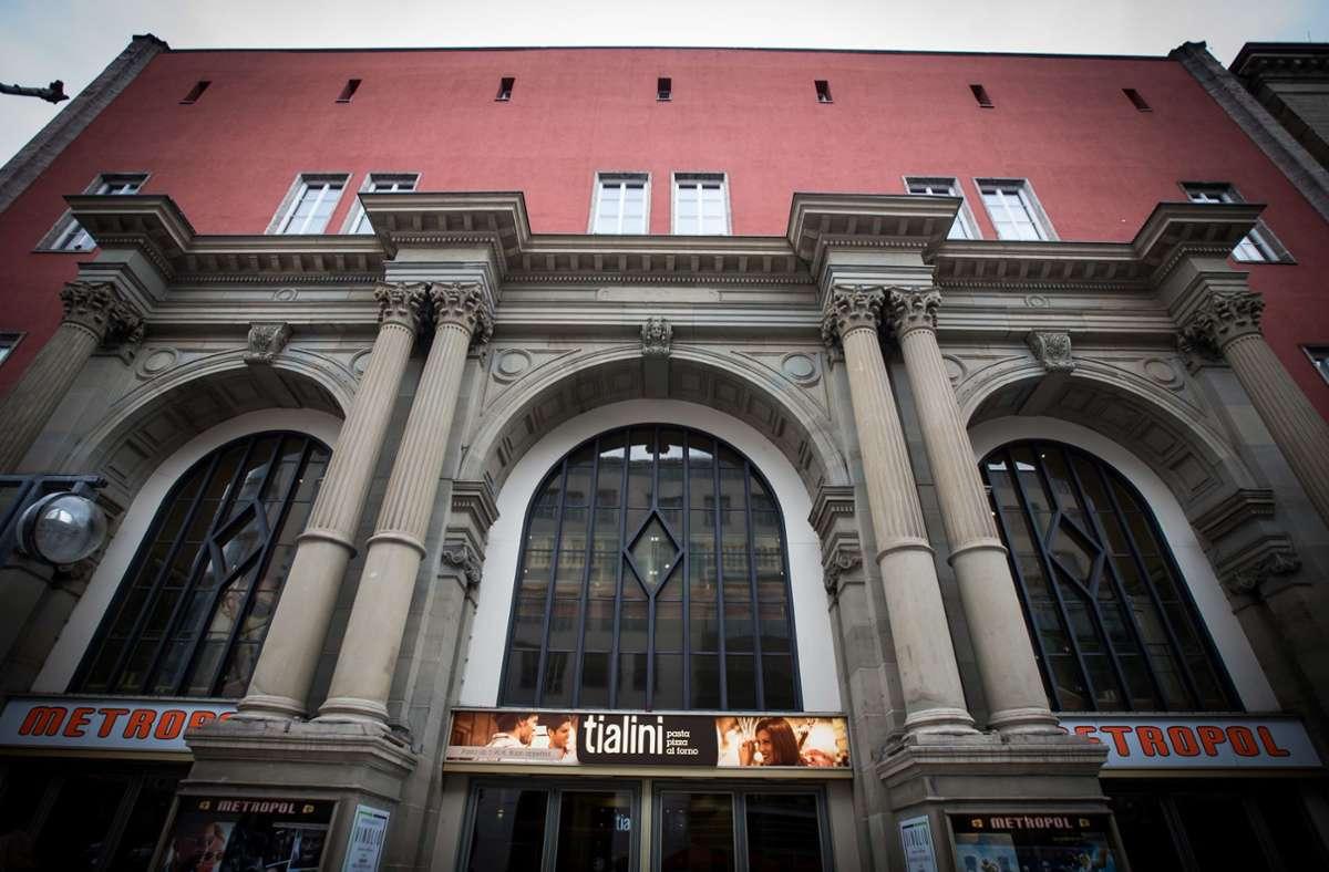 Aus den Metropol-Kinos wird eine Kletterhalle Foto: Lichtgut/Achim Zweygarth