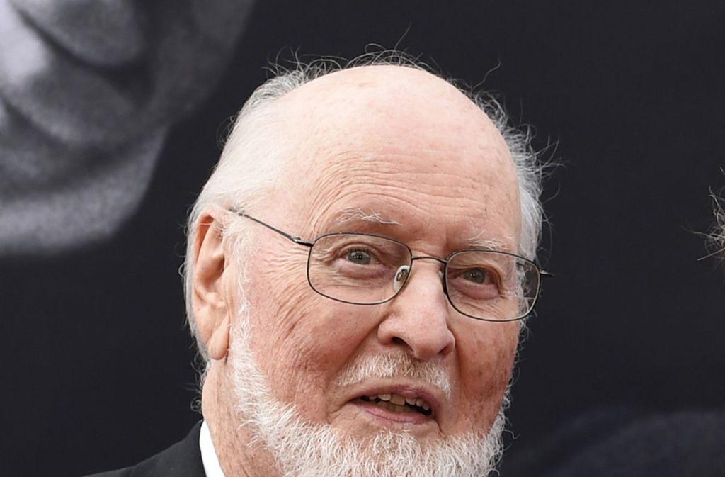 """Ist eben auch schon 86: """"Star Wars""""-Filmkomponist John Williams. Foto: dpa"""
