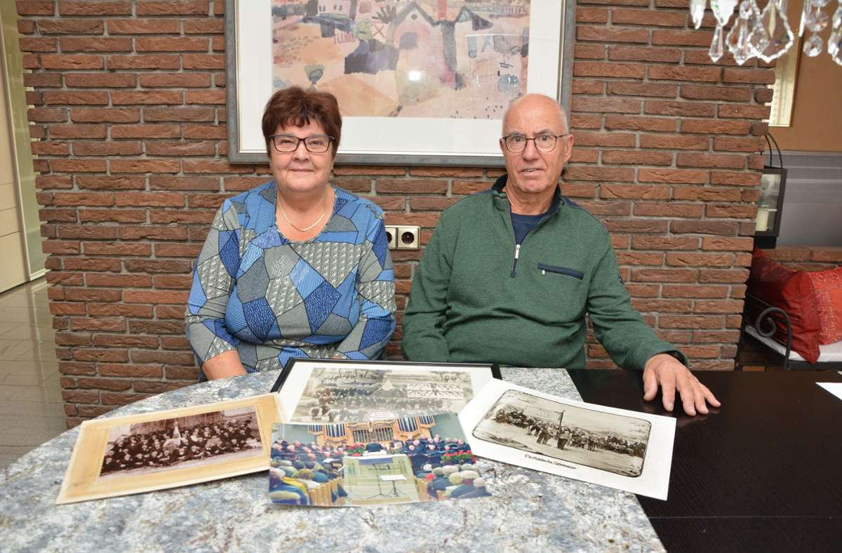 Die einstigen Vorstandsmitglieder Esther Dinter und Walter Remmele sind mit der Liquidation des Vereins beauftragt. Foto: Philipp Braitinger
