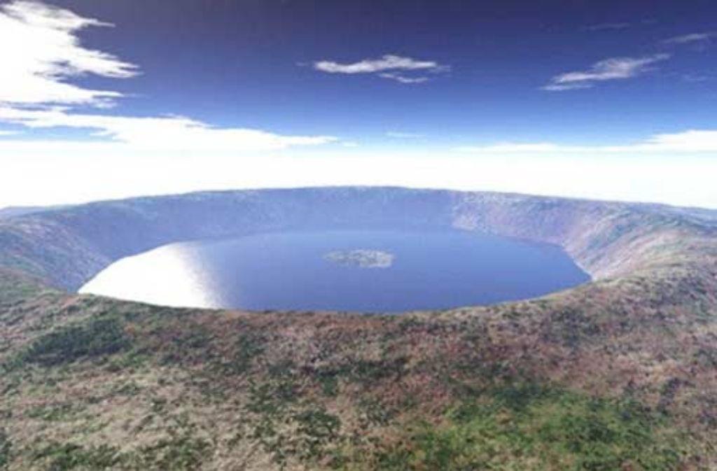 Ist der Krater von Rochechouart im französischen Zentralmassiv der Rest eines gewaltigen Meteoriteneinschlags? Foto: StZ