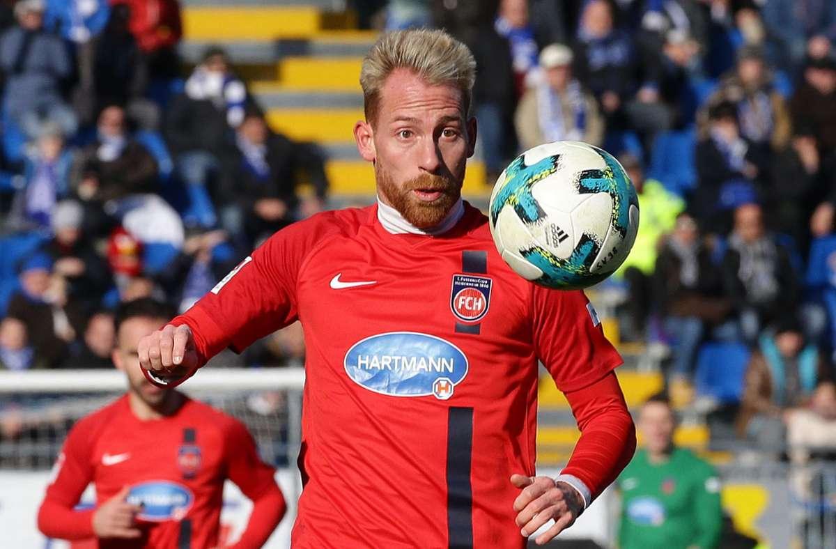 Marc Schnatterer spielt künftig in der dritten Liga für Waldhof Mannheim. Foto: Baumann