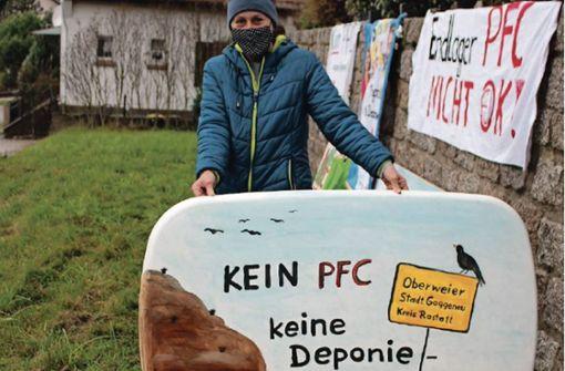 Keine PFC-Deponie in Oberweier