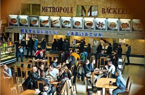 Mittagspause  in Klein-Istanbul