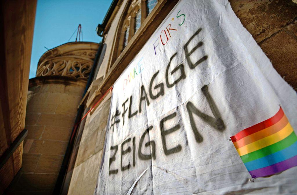 In der Kirchengemeinde Schorndorf ist eine Diskussion über Homosexualität eskaliert. Foto: Gottfried Stoppel