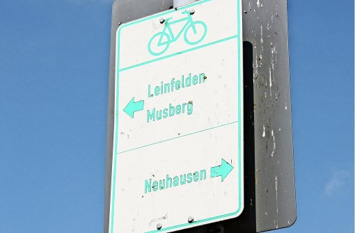 Ausschuss sagt Nein zum Radschilderwald