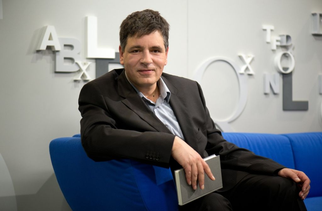 Der Schriftsteller Marcel Beyer bekommt den Georg-Büchner-Preis 2016. Foto: dpa