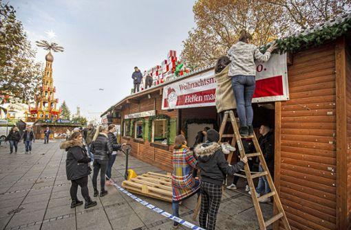 Verkaufsstand am Schlossplatz startet am Mittwoch