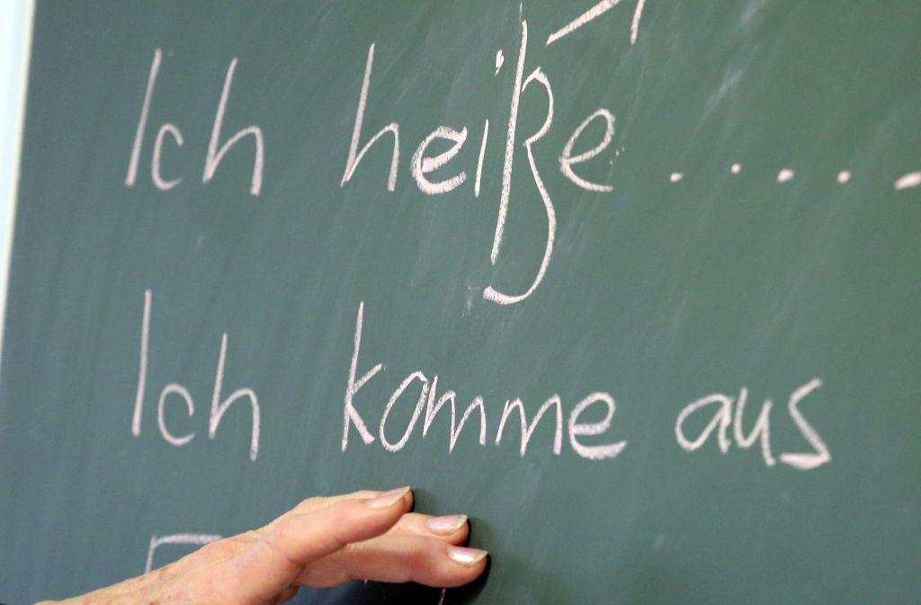 Bis die Flüchtlinge Deutsch sprechen können, dauert es. Für die Verständigung braucht es zunächst Übersetzer. Foto: dpa-Zentralbild