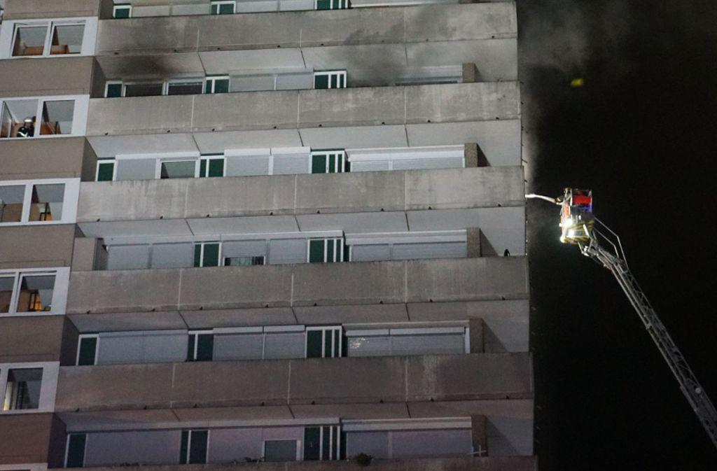 Das Feuer brach im sieben Stock des Hochhauses aus. Foto: SDMG/SDMG / Woelfl