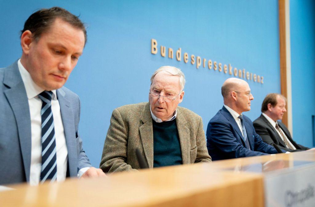 Bundespressekonferenz Heute