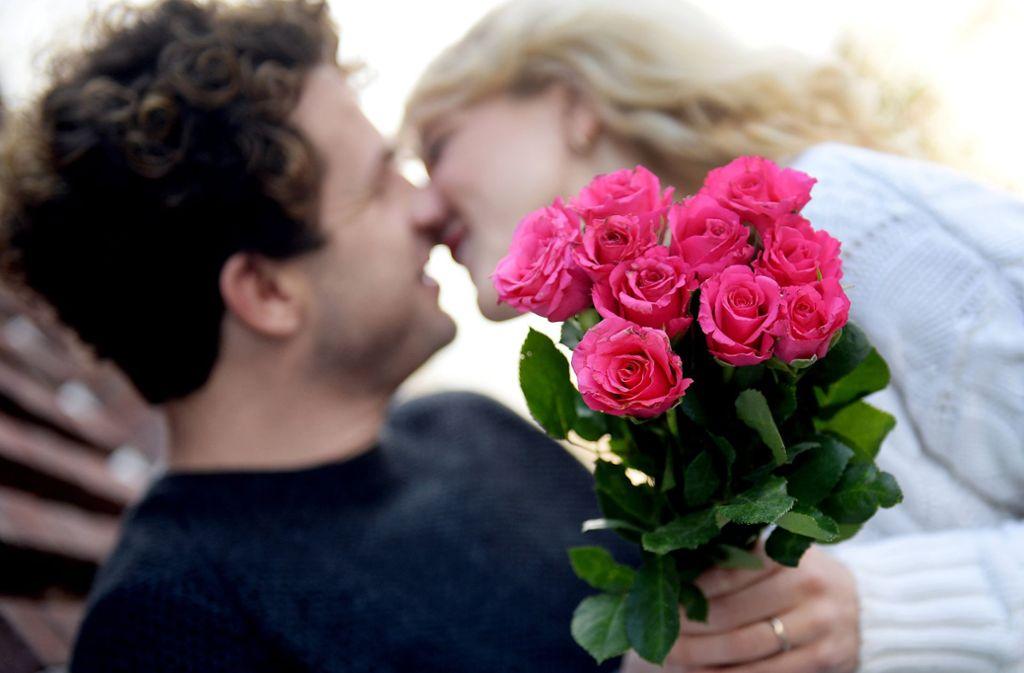 """""""Die Rosen sind geklaut"""" – vier Worte können genügen. Foto: dpa"""