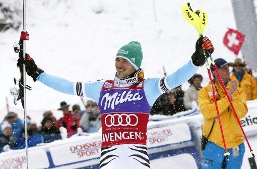 Felix Neureuther gewinnt in Wengen