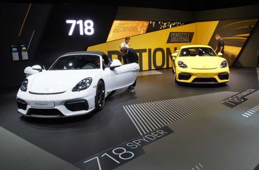 Porsche zeigt sich auf der IAA