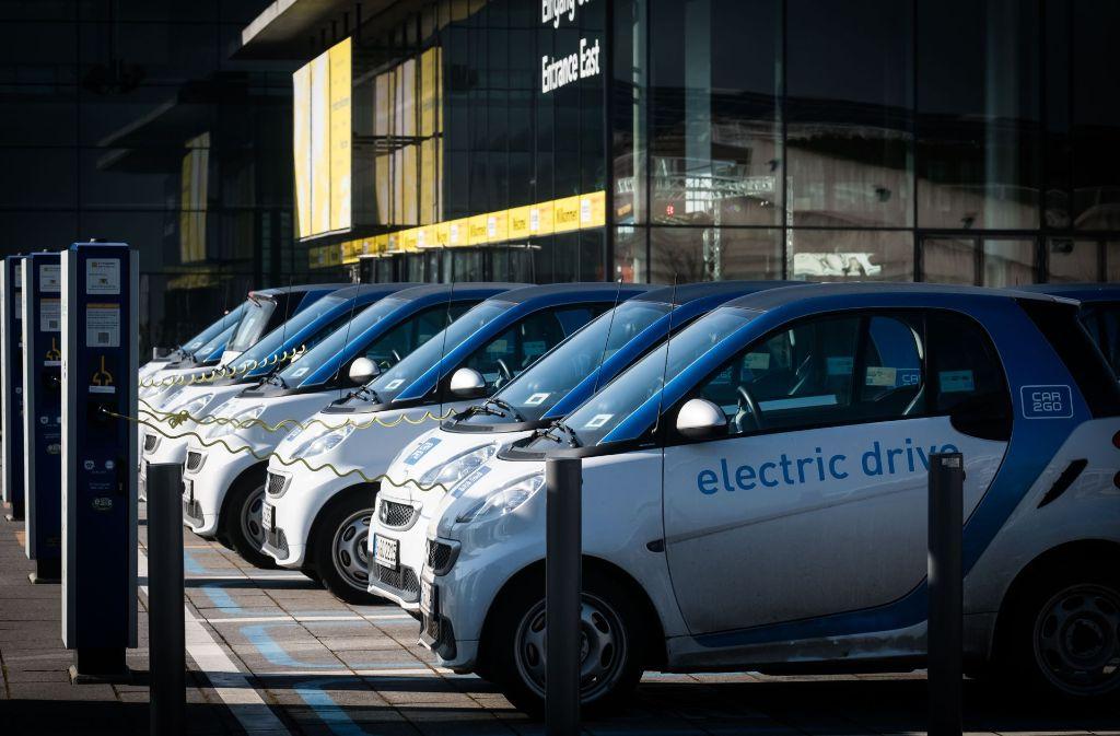 Im kommenden Jahr soll die Car2go-Flotte in Stuttgart getauscht werden. Foto: Lichtgut/Achim Zweygarth