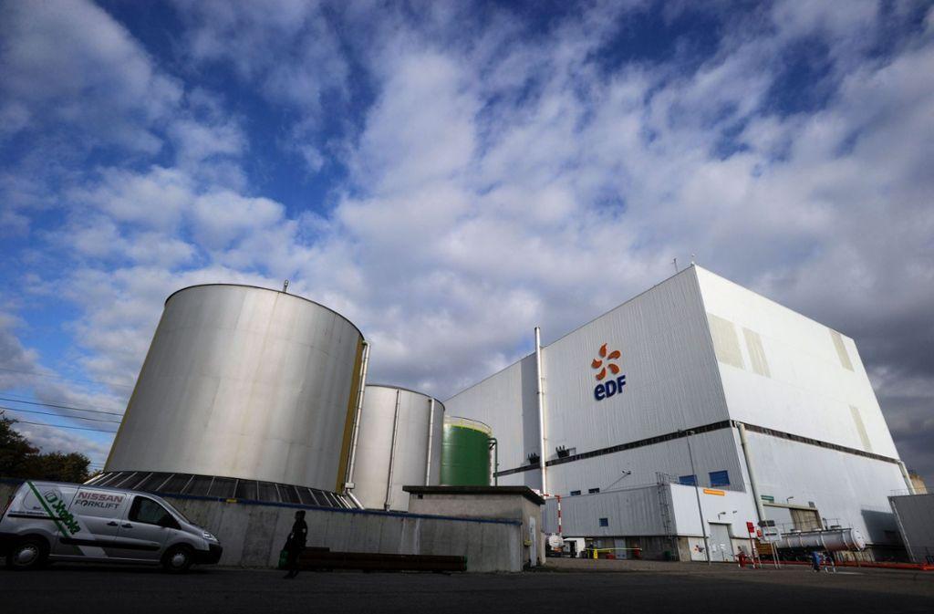 Der Energiekonzern EDF will das Atomkraftwerk Fessenheim länger am Netz lassen. Foto: AFP