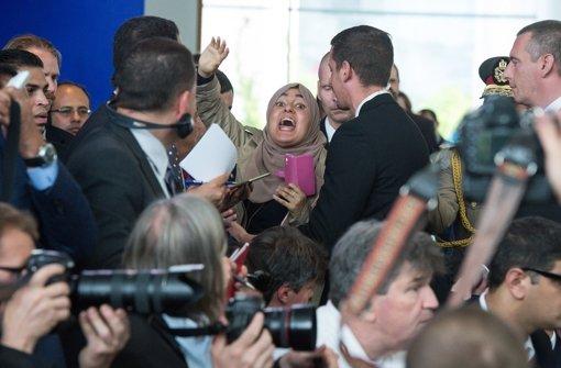 Eklat bei Pressekonferenz