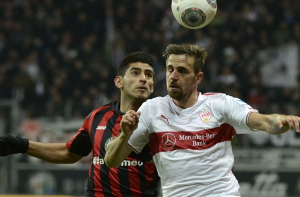 Der VfB Stuttgart hat am Sonntagabend 2:1 gegen Frankfurt verloren. Was sagen die Spieler und die Spitze des VfB zu dieser Niederlage? Ihre Reaktionen zeigen wir in der folgenden Bildergalerie. Foto: Bongarts