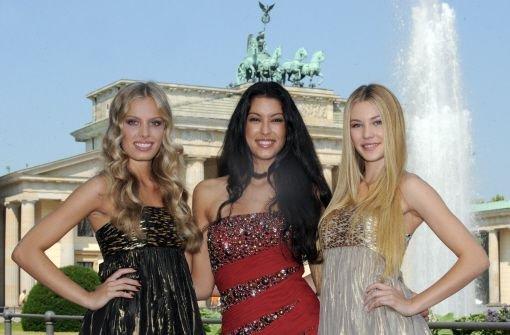 Amelie, Jana und Rebecca im Check