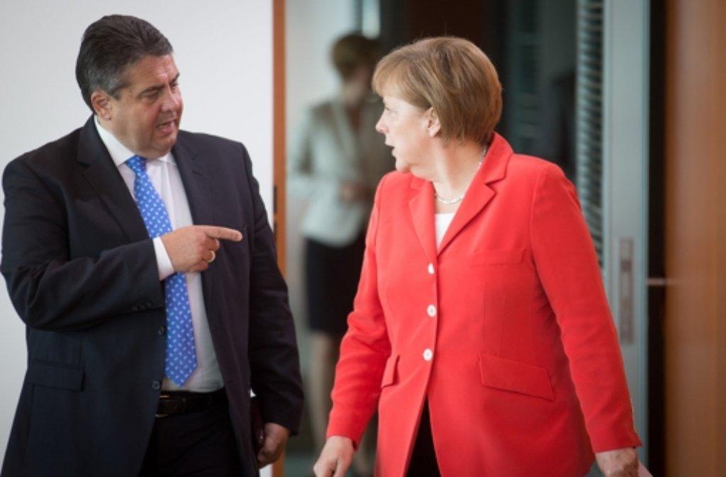 Zwischen der CDU und der SPD herrscht momentan dicke Luft in der Geheimdienstaffäre. Foto: dpa
