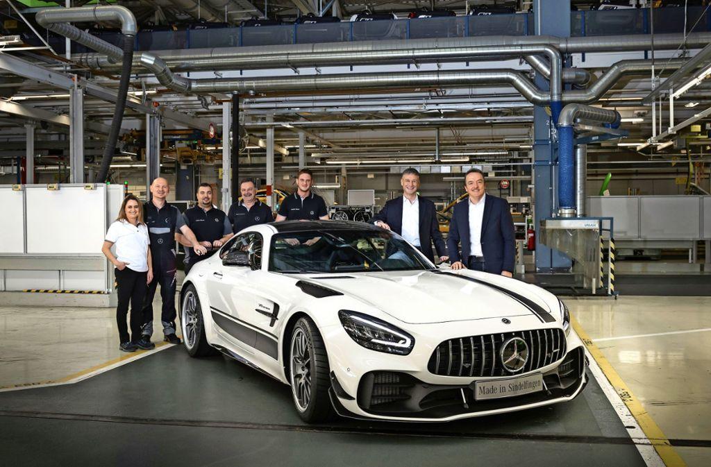 Erster: der AMG GT Foto: MediaPortal Daimler AG