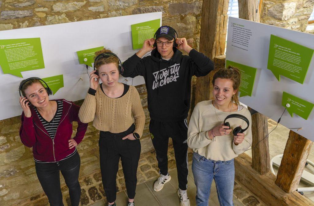 Die studentische Ausstellung ist mehr zu hören als zu sehen Foto: factum/Bach