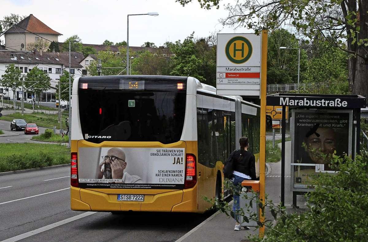 Der Bezirksbeirat Mühlhausen hofft auf eine Verlängerung der Buslinie 54. Foto: Archiv
