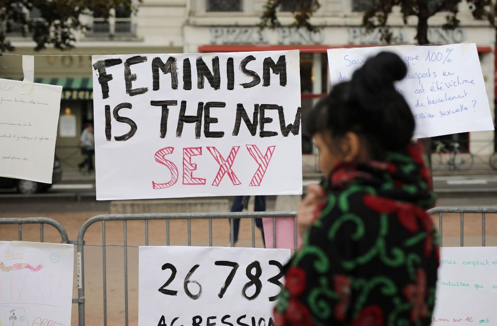 Firmiert sich der Feminismus neu? Foto: AP