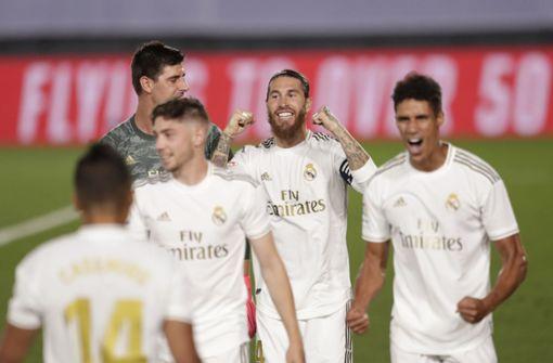 Real Madrid zum 34. Mal spanischer Fußball-Meister