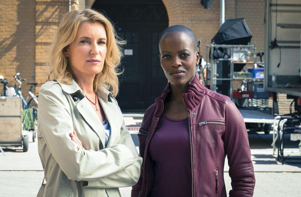 Tatort-Kommissarin Charlotte Lindholm (Maria Furtwängler, links) bekommt eine neue Kollegin: Florence Kasumba wird im Göttinger Tatort einige Fälle lösen. Foto: