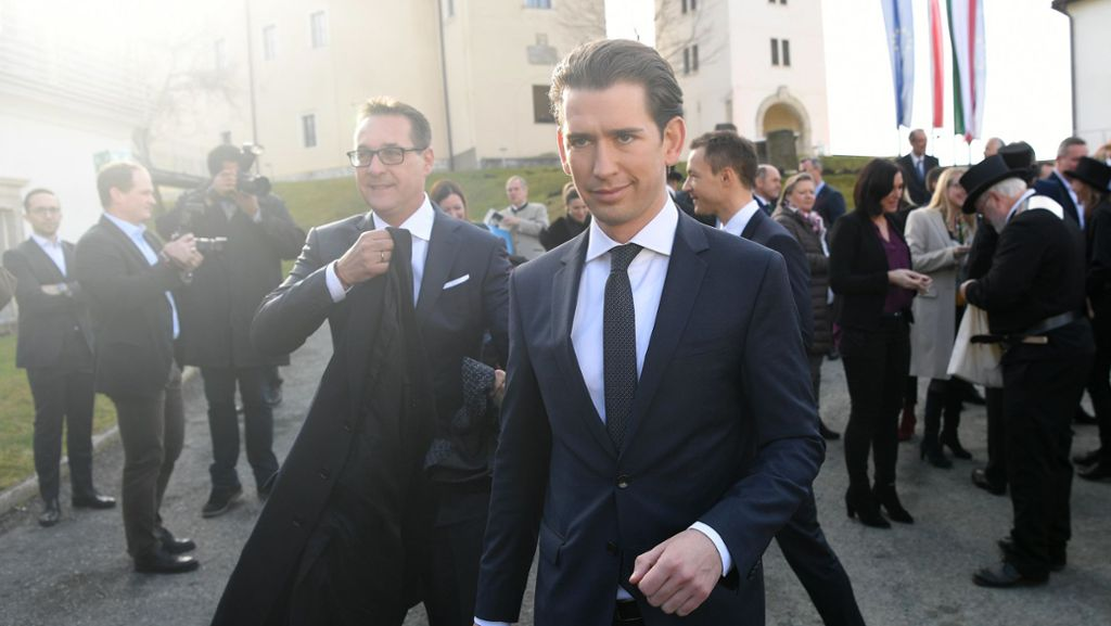 Bundespräsident empfängt Kanzler Kurz