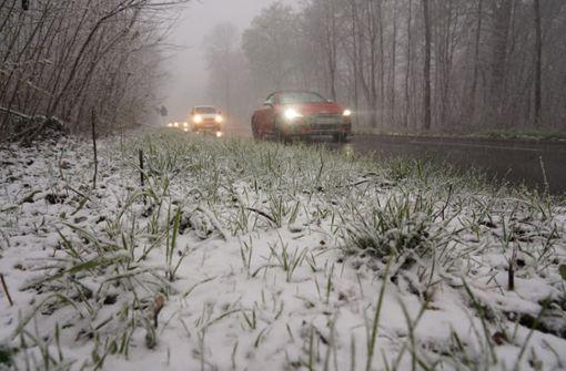 In Stuttgart liegt wieder Schnee – Polarluft sorgt für Kälteeinbruch