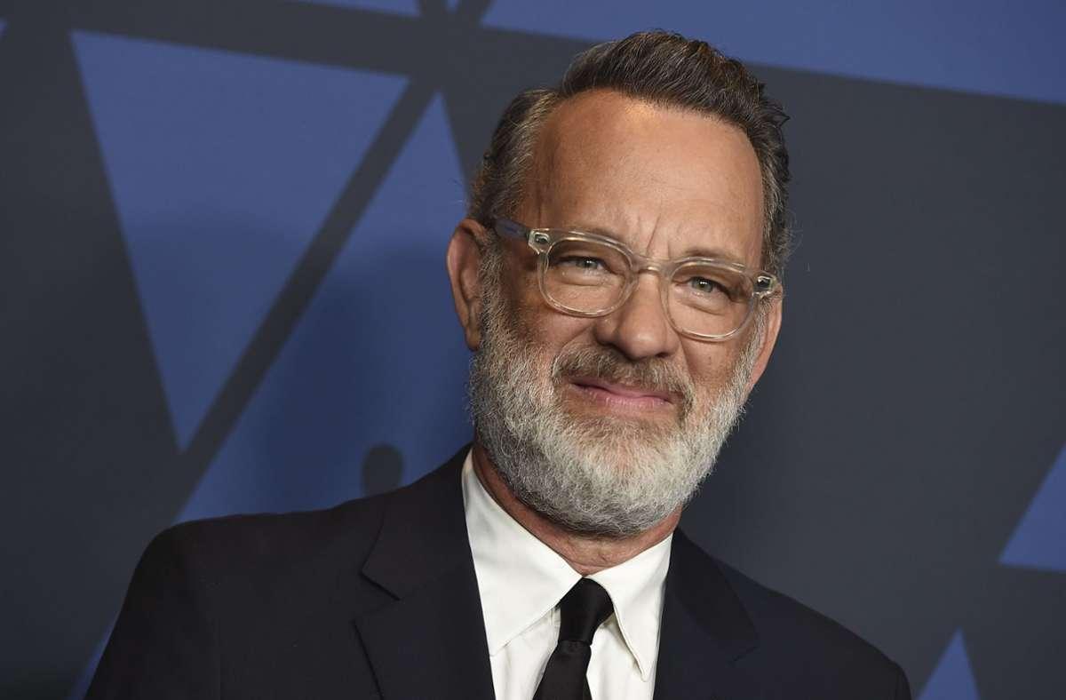 Der Schauspieler und zweifache Oscar-Preisträger Tom Hanks Foto: dpa/Jordan Strauss