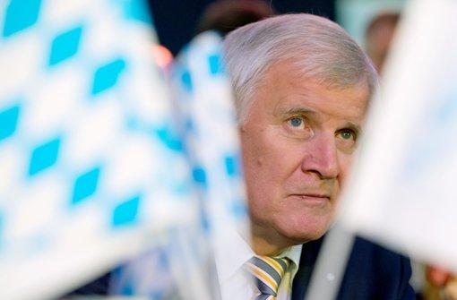 Seehofer schließt weitere Amtszeit aus