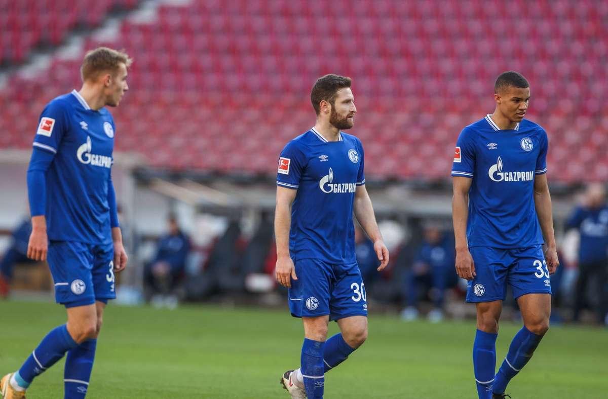 Der FC Schalke 04 befindet sich weiter im Sturzflug Richtung Liga zwei. Foto: imago images/RHR-Foto/Tim Rehbein