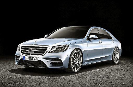 Daimler macht die S-Klasse schlauer