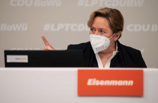 Susanne Eisenmann rügt in Rede  Opposition