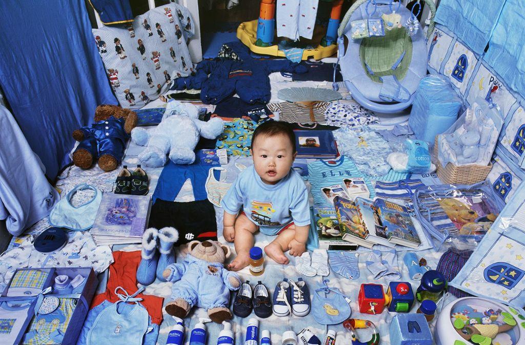 """Früh übt sich, was ein echter Junger werden soll: Jeong Mee Yoons Projekt """"The Pink & Blue"""" Foto: Jeong Mee Yoon"""