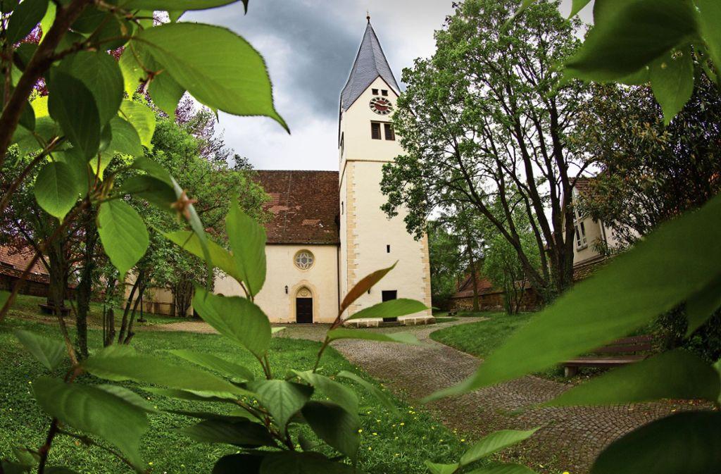 Der Kirchhof wird im Juli zur Theaterkulisse – sofern das Wetter mitspielt. Foto: Ines Rudel