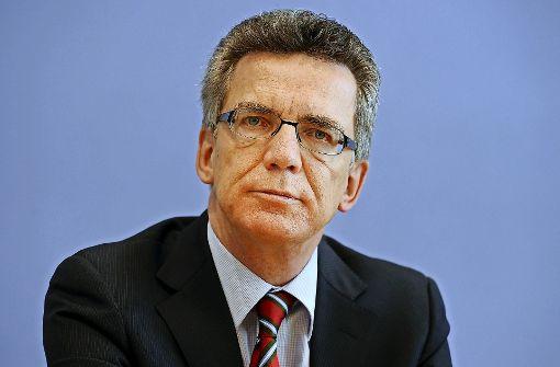 SPD attackiert  Innenminister de Maizière