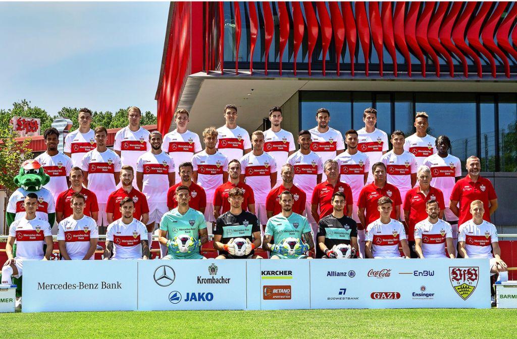 31 Spieler des VfB Stuttgart gibt es in Fifa 20. (Symbolbild) Foto: Pressefoto Baumann/Julia Rahn