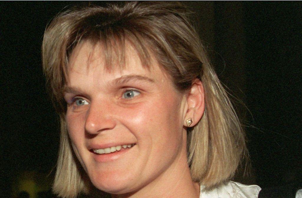 Andrea Pollack hatte im ersten Prozess um systematisches Doping im DDR-Sport als Zeugin ausgesagt Foto: dpa