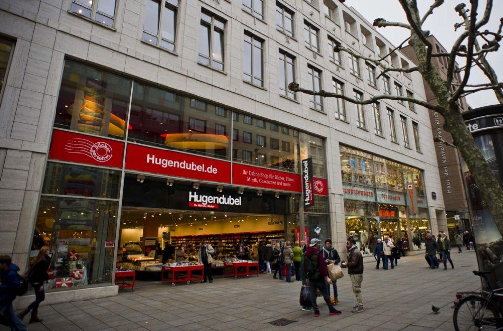 Im vergangenen Jahr hat die Filiale des Buchhändlers Hugendubel an der Königstraße ihre Türen geschlossen. Foto: Lichtgut/Max Kovalenko