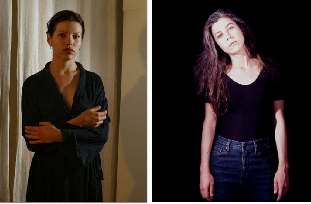 Anja Plaschg (links) und Julia Holter  Foto: Label