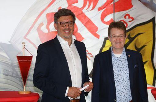 Claus Vogt und Pierre-Enric Steiger schalten in den Wahlkampfmodus