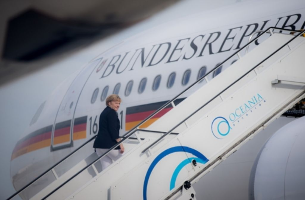 Der G20-Gipfel ist zu Ende: Bundeskanzlerin Angela Merkel verlässt Brisbane. Foto: dpa